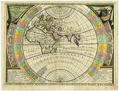 Antique Print-OLD WORLD-ZODIAC-Coronelli-1690