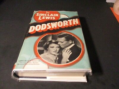 1929 DODSWORTH by Sinclair Lewis Photoplay Book X195 PL