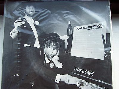 Chas & Dave, Poor Old Mr. Woogie / Uneasy Feeling. New Still Sealed 1981 Single