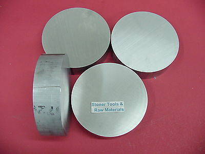 "4 Pieces 2-1/2"" ALUMINUM 6061 ROUND ROD .5"" long Solid T6 Lathe Ber Stock 2.5"""