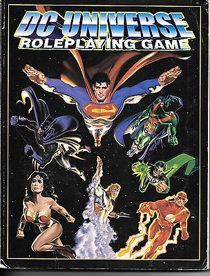 DC Universe Roleplaying Game BOOK Yeti West End Games