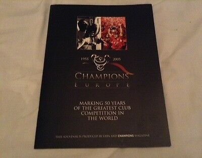 *RARE* 1955-2005 - 50 Years of the Champions League/European Cup Magazine