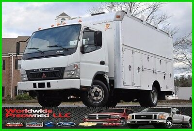 2007 Mitsubishi Fuso Fe180 Tilt Cab Utility Truck 4.9L Diesel Cab Over Used Work