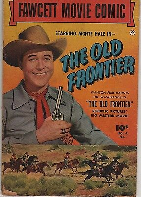 FAWCETT MOVIE COMIC 9 (1950) 'The Old Frontier'