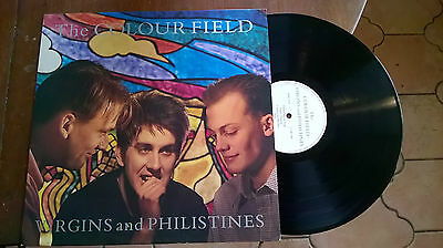 THE COLOUR FIELD  VIRGINS AND PHILISTINES excellent+ 1985 UK VINYL LP