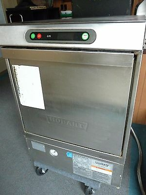 HOBART LXIH Commercial Dishwasher Hot Water Under Counter Stainless Steel NSF OH