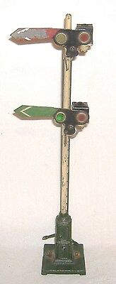 1922-1930 Ives Train #301 Lighted Double Semaphore