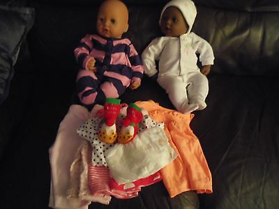 baby annabell,chou sized real baby clothes bundle NO dolls