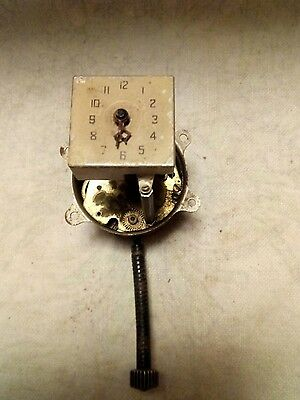Old vintage car clock for spares or repairs