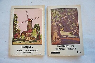 LNER Rambles Railway Travel Guide Books The Chilterns & Epping Forrest