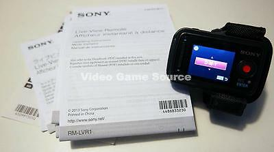 Original Sony Rm-Lvr1 Live-View Remote Für For Hdr As15/as20/as30/as100 *top!