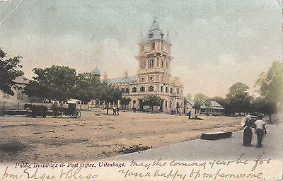 SOUTH AFRICA   UITENHAGE   PUBLIC BUILDING AND POST OFFICE  pu 1906