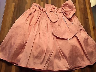 NEXT Stunning Pink Party Skirt Age 6 Christmas Party Day EXCELLENT CONDITION