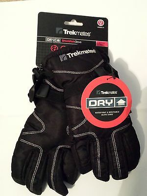 BNWT Womens Trekmates Dry Shieldtek Gloves black medium