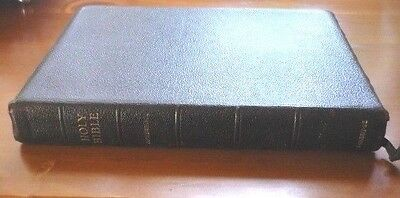 Old Vintage Holy Bible With Concordance + Family Record