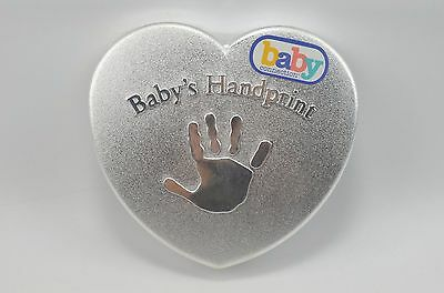 Baby's First Handprint Kit Baby Connection Mold Plaster Easel Colored Chalk