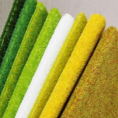 Grass Landscape Mat Model Train 00 N Gauge Adhesive Paper Scenery Layout Lawn