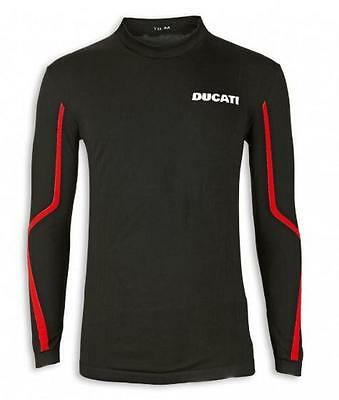 Ducati Performance Seamless Undershirt Black Large Moisture Wicking