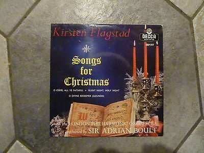 Kirsten Flagstad Ep : Songs For Christmas