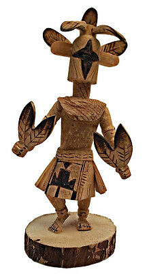Southwestern Native American Indian Kachina Doll Chasing Star by R Platero