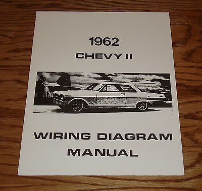 1966 chevrolet chevelle wiring diagram manual 66 chevy • 9 00 1962 chevrolet chevy ii nova wiring diagram manual 62