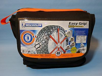 Michelin Easy Grip L13 Composite Snow Chains - 7904 -  Set Of 2  -  New In Bag