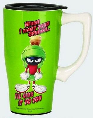 Looney Tunes Ceramic Travel/Coffee Mug: Marvin The Martian
