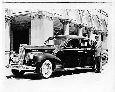 1941 Packard Super Eight Limo Photo Gov James Hurley oad2346-MJ2CT7