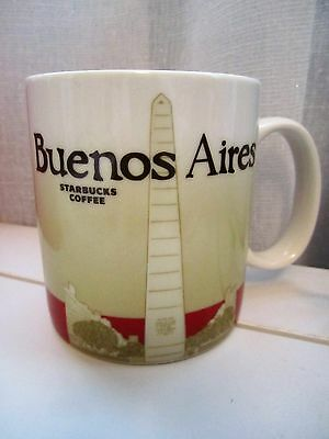 Starbucks Buenos Aires Global Idol 16 oz Grande Collector Series Coffee Mug Cup