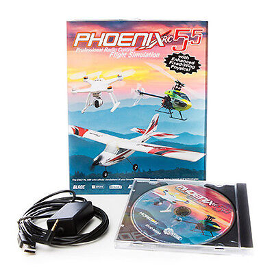 Phoenix RTM5500 R/C RC Pro Helicopter & Airplane Flight Simulator V5.5