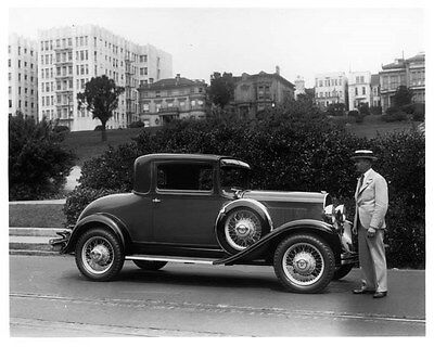 1930 DeSoto Eight Coupe ORIGINAL Factory Photo oad4916-1Y9T7K