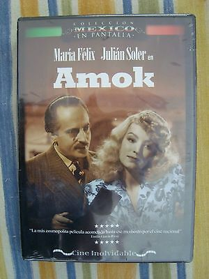 AMOK new ALL REGION dvd MARIA FELIX JULIAN SOLER STELLA INDA 1944