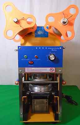 Automatic Bubble Tea Boba Cup Sealing  Machine TESTED(430)