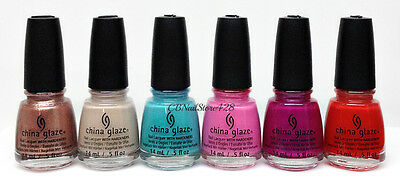 China Glaze Nail Lacquer - DESERT ESCAPE Collection - Choose Any Color