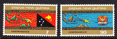 Papua New Guinea 1975 Independence Complete set - MNH