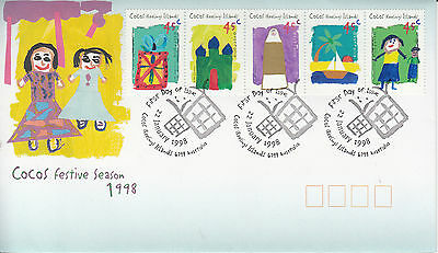 Cocos(Keeling) Islands 1998 Festive Season First Day Cover