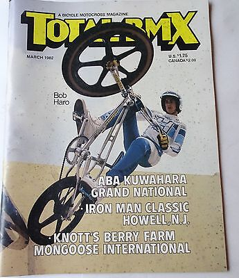 Vintage March 1982 Old School Total Bmx Bicycle Motocross Magazine
