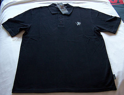 Holden Special Vehicles HSV Mens Black Embroidered Polo Shirt Size S New