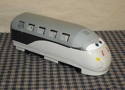 2011 Disney Pixar Cars Stephenson Spy Train Transporter Loose