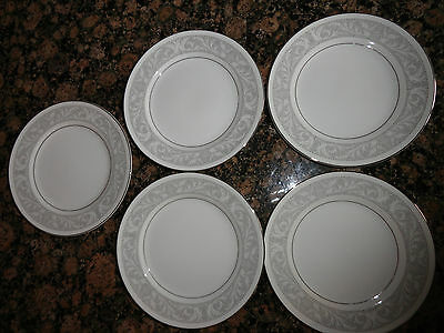 "Imperial China [Japan], ""Whitney"" Pattern, 5671, Bread & Butter Plate, White"