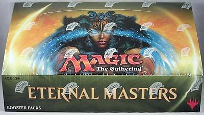 ETERNAL MASTERS Factory Sealed/New BOOSTER BOX Magic the Gathering MTG FREE SHIP