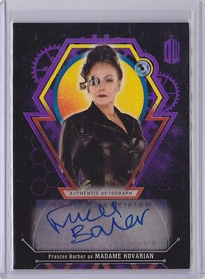 2016 Topps Doctor Who Encounters Frances Barber as Madame Kovarian Auto /10