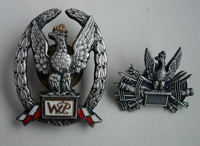 POLISH POLAND EXEMPLARY WARRANT OFFICER BADGE NUMBERED BADGE current type