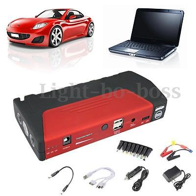 50800mah Power Bank Portable Jump Starter Booster Chargeur Batterie LED Voiture