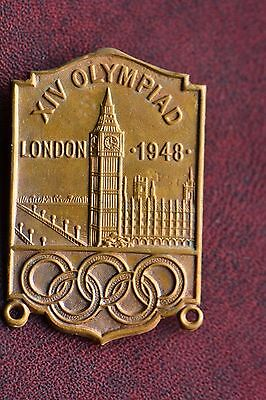 London 1948 Olympic games participant pin / badge