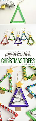 25 Craft Sticks Ideal For Decorating Cards ' New '