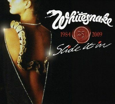 Whitesnake - Slide It In NEW CD + DVD