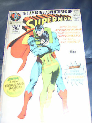 Superman #243 Oct 1971 (GD) Bronze Age Giant Size