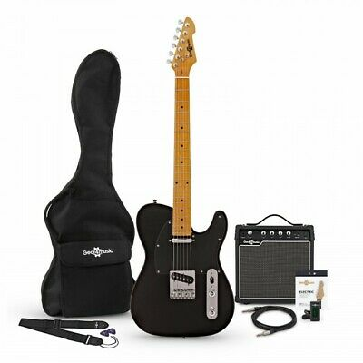 Knoxville Electric Guitar + Amp Pack Black