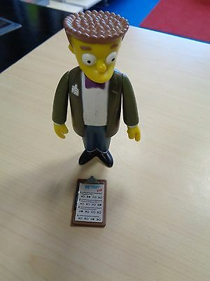 Playmates 2000 Collectable Rare The Simpsons Interactive Smithers  Figure